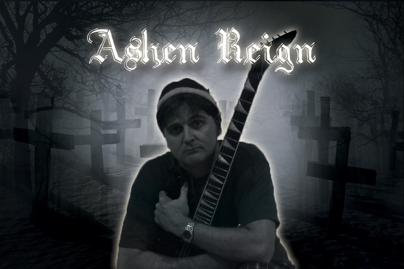 Brent McDaniel, commander in the Ashen Reign one-man metal army