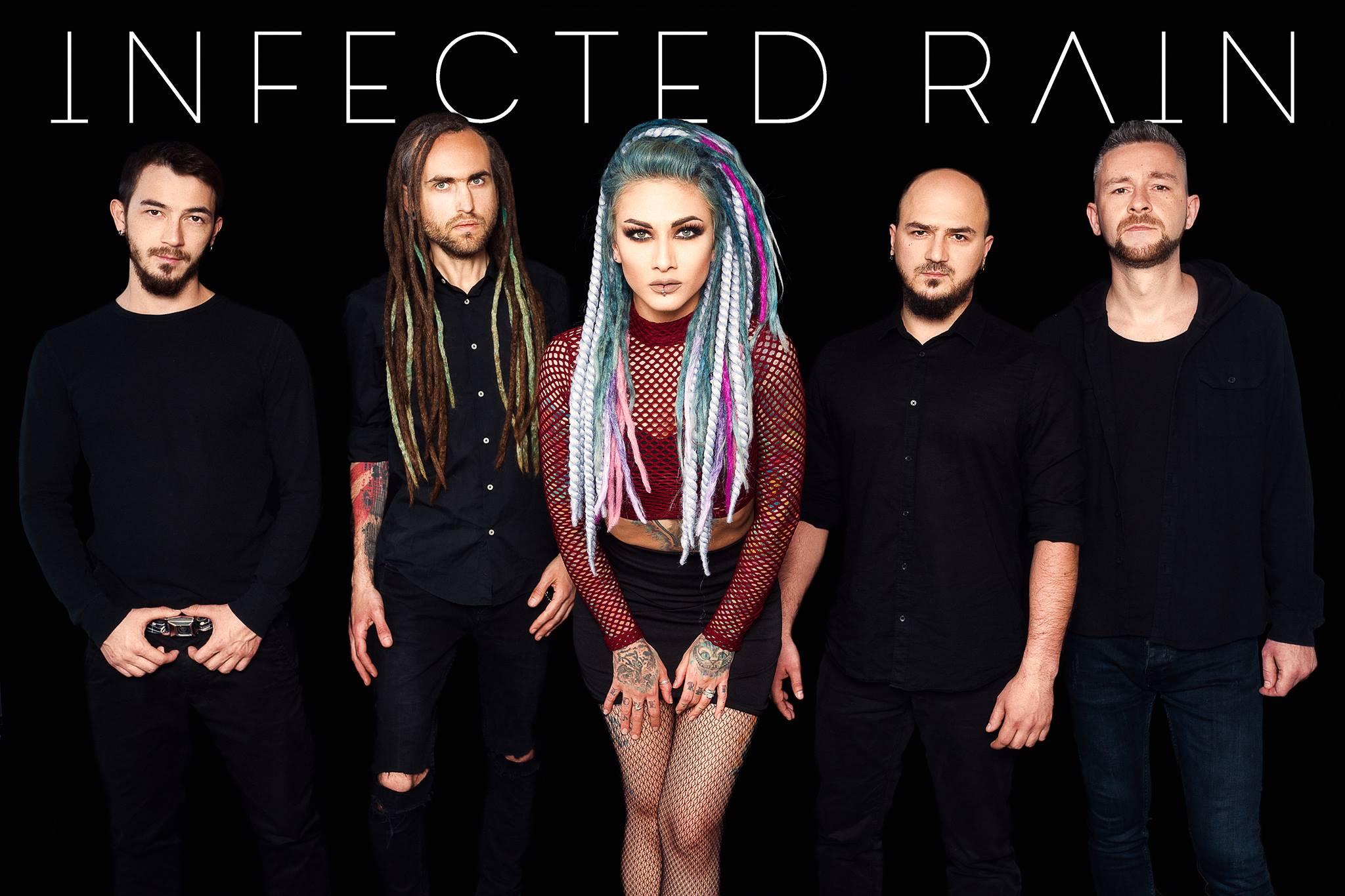 Infected Rain Sängerin