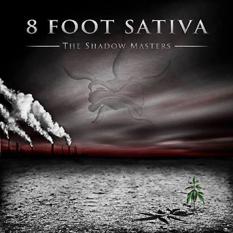 8 FOOT SATIVA - The Shadow Masters cover