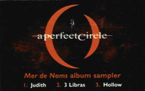 A PERFECT CIRCLE - Mer De Noms Album Sampler cover