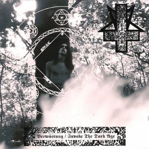 ABIGOR - Verwüstung / Invoke the Dark Age cover