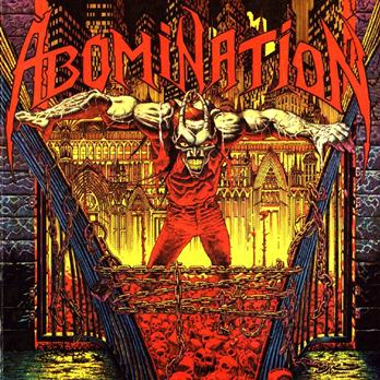 ABOMINATION - Abomination cover