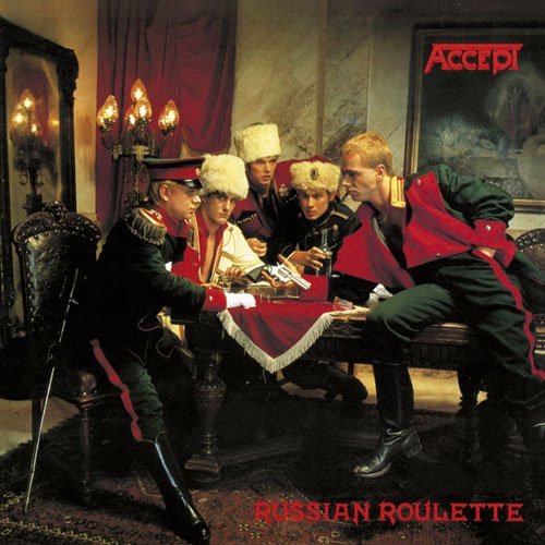 ACCEPT - Russian Roulette cover