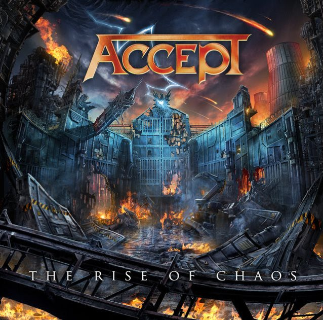 ACCEPT - The Rise of Chaos cover