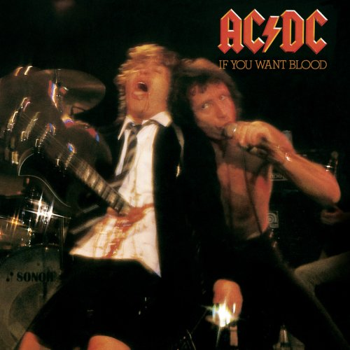 AC/DC - If You Want Blood You've Got It cover