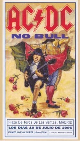 AC/DC - No Bull cover