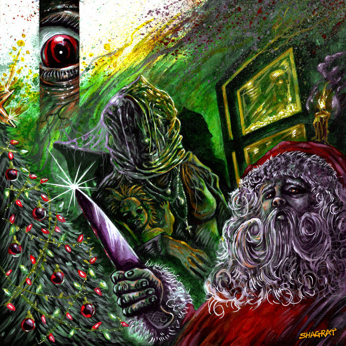 ACID WITCH - Black Christmas Evil EP cover
