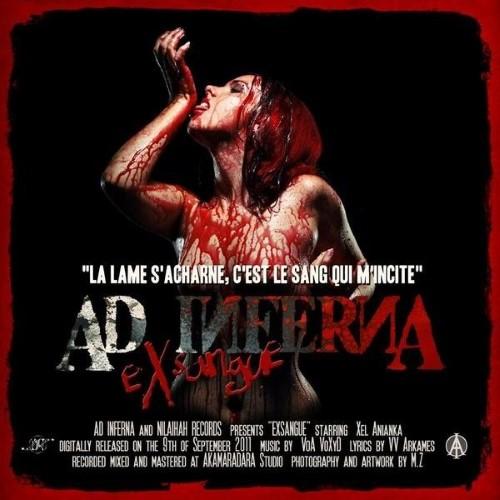 AD INFERNA - eXsangue cover