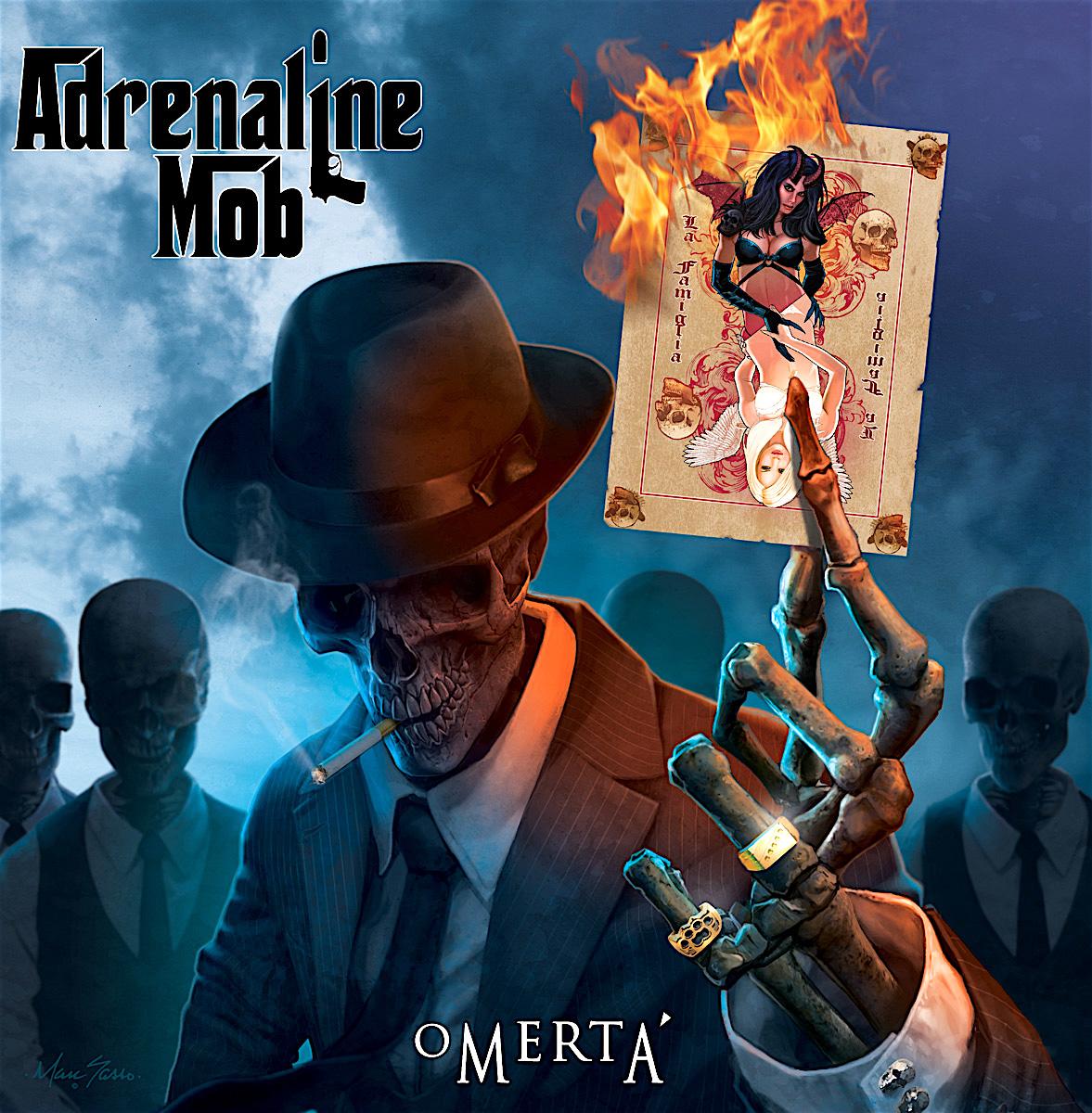 ADRENALINE MOB - Omertá cover