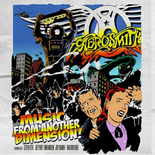 AEROSMITH - Music From Another Dimension cover