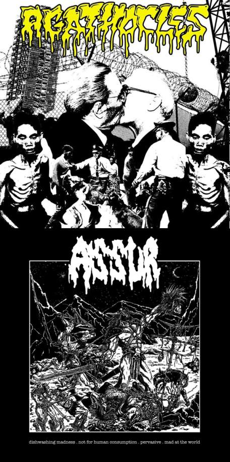 AGATHOCLES - Agathocles / Assur cover