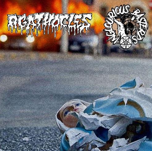 AGATHOCLES - Agathocles / Inglourious Basterds cover