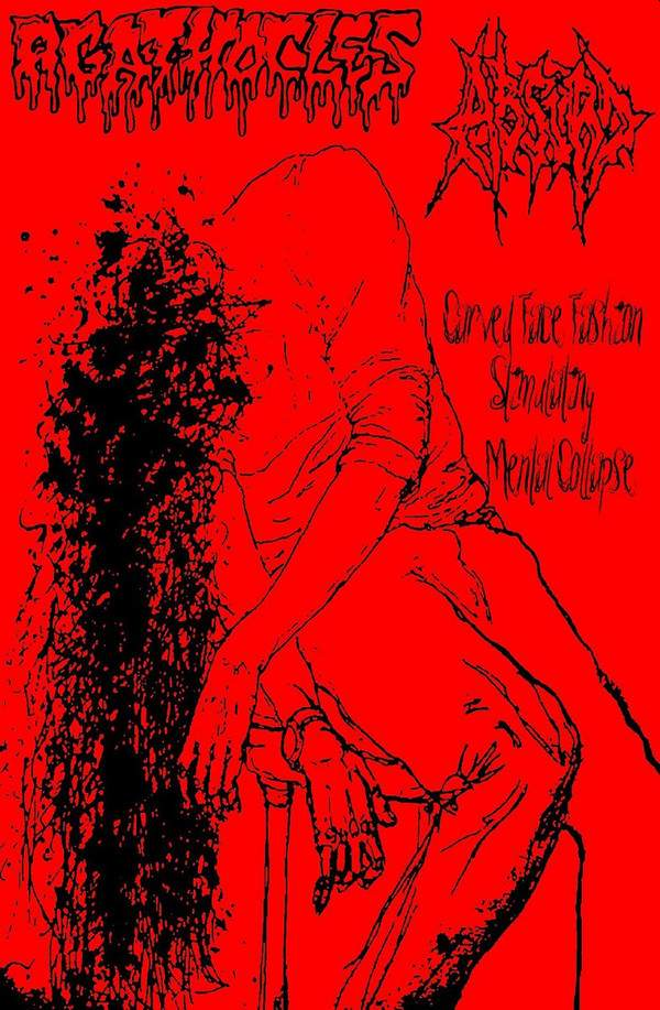 AGATHOCLES - Carved Face Fashion Stimulating Mental Collapse cover