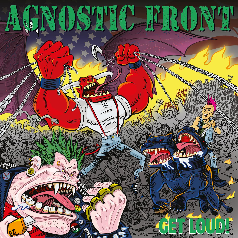 AGNOSTIC FRONT - Get Loud! cover