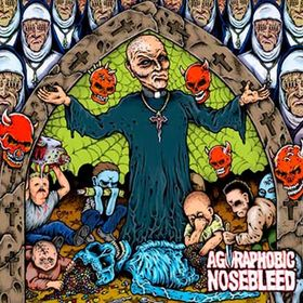 AGORAPHOBIC NOSEBLEED - Altered States of America cover