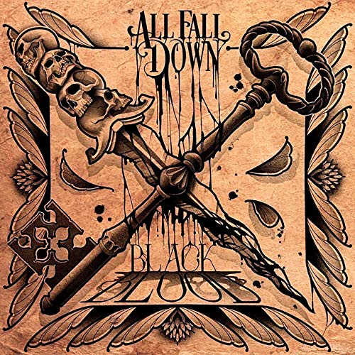 ALL FALL DOWN - Black Blood cover