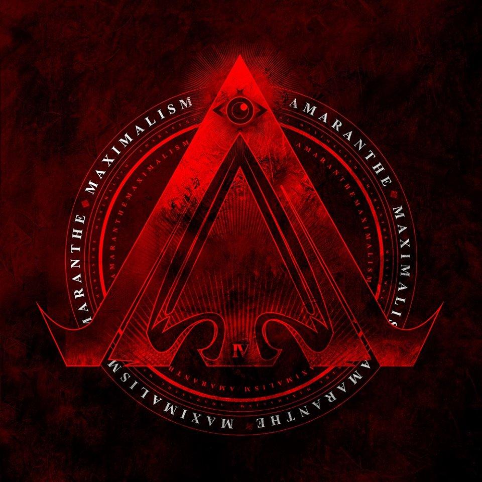 AMARANTHE - MAXIMALISM cover