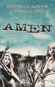 AMEN - Uncontrolled Music For A Controlled Society cover
