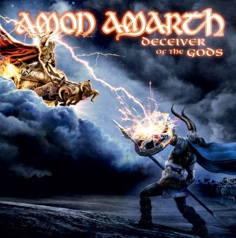 AMON AMARTH - Deceiver Of The Gods cover