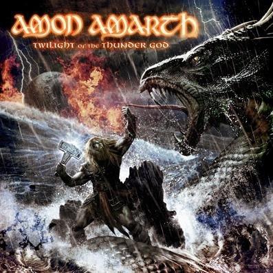 AMON AMARTH - Twilight of the Thunder God cover