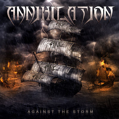 ANNIHILATION - Against The Storm cover