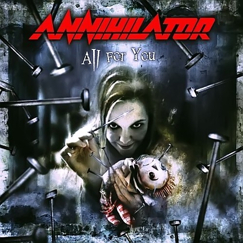 ANNIHILATOR - All for You cover