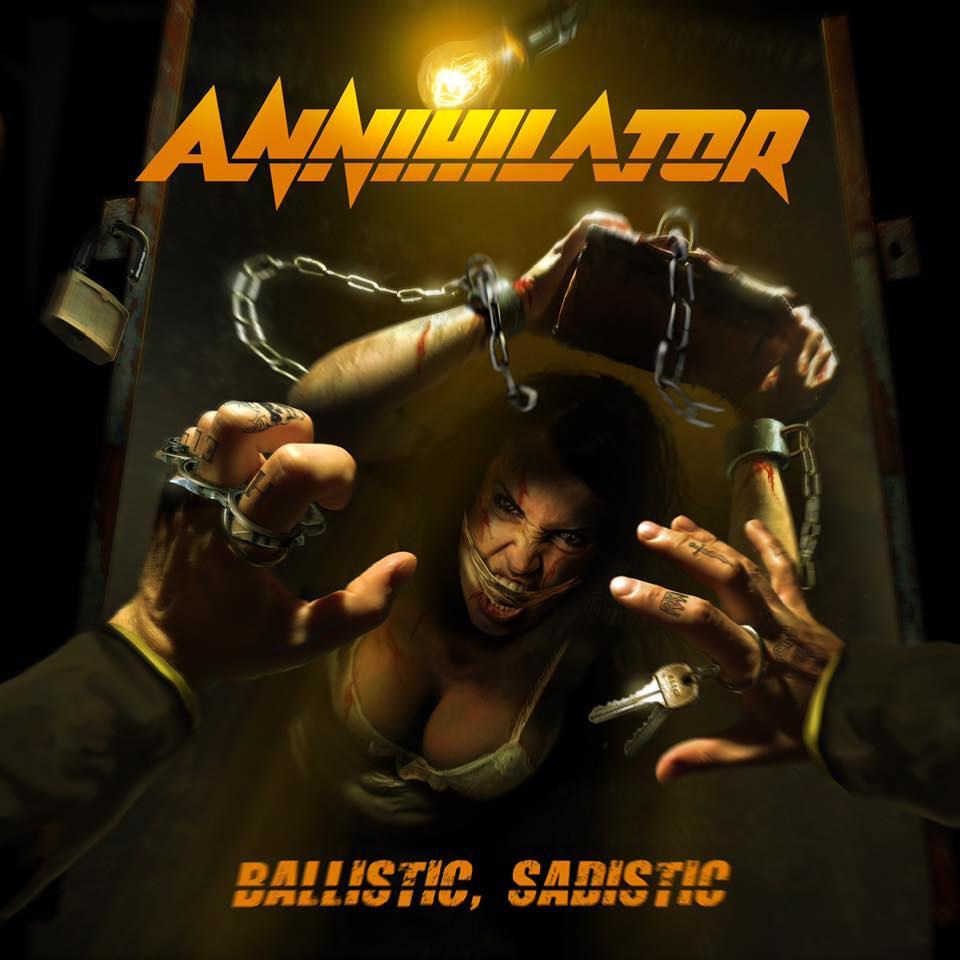 ANNIHILATOR - Ballistic, Sadistic cover