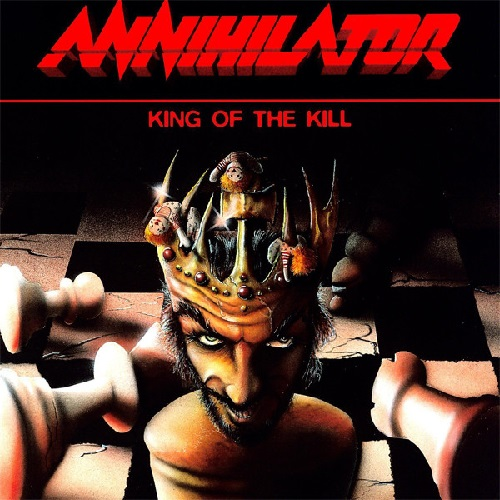 ANNIHILATOR - King of the Kill cover