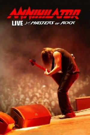 ANNIHILATOR - Live at Masters of Rock cover