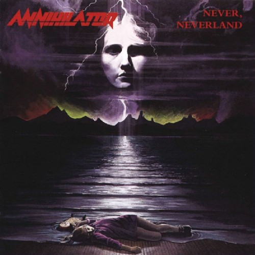 ANNIHILATOR - Never, Neverland cover