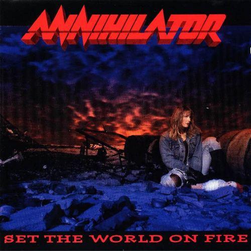 ANNIHILATOR - Set the World on Fire cover