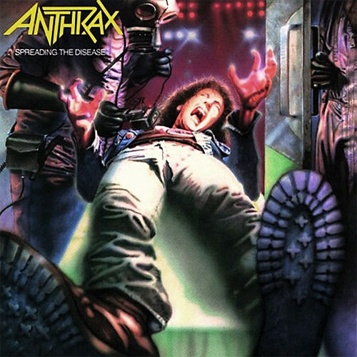 ANTHRAX - Spreading The Disease cover