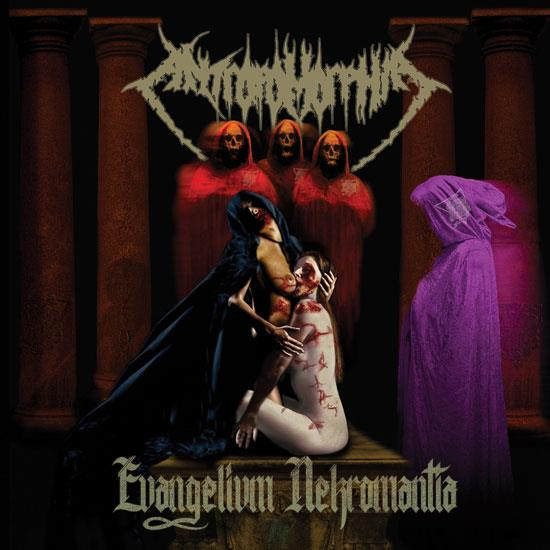 ANTROPOMORPHIA - Evangelivm Nekromantia cover 