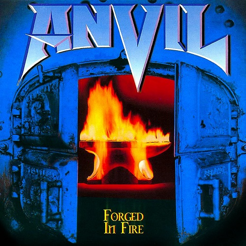 ANVIL - Forged in Fire cover