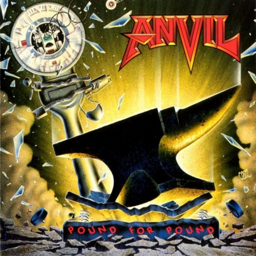 ANVIL - Pound for Pound cover 