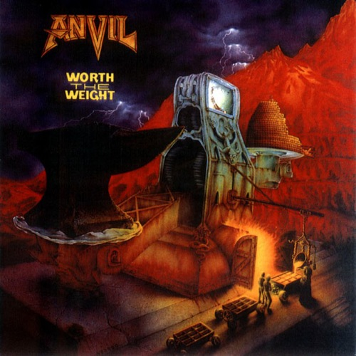 ANVIL - Worth the Weight cover