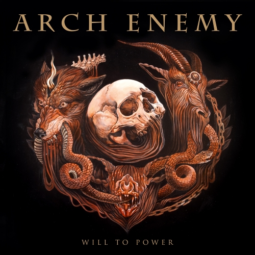 ARCH ENEMY - Will to Power cover