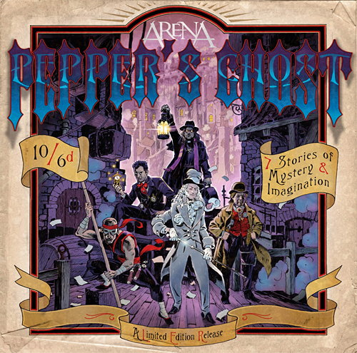 ARENA - Pepper's Ghost cover
