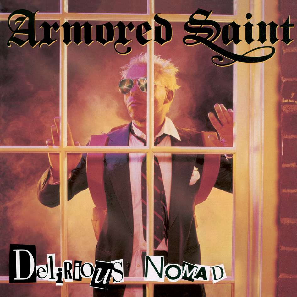ARMORED SAINT - Delirious Nomad cover
