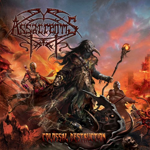 ASSACRENTIS - Colossal Destruction cover