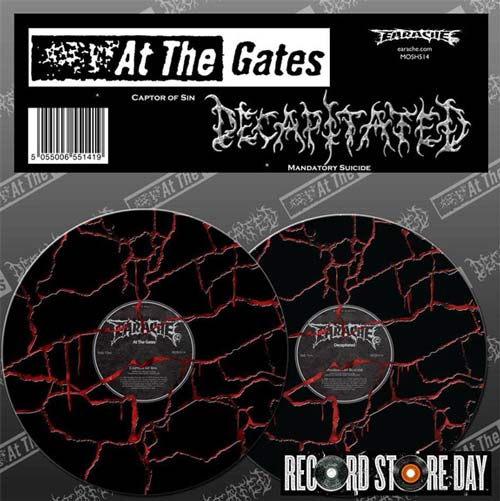 AT THE GATES - At the Gates / Decapitated cover