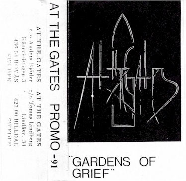 AT THE GATES - Gardens of Grief cover