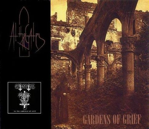 AT THE GATES - Gardens of Grief / In the Embrace of Evil cover