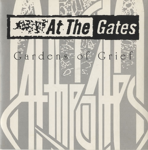 AT THE GATES - Gardens of Grief (single) cover