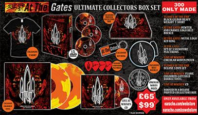 AT THE GATES - Ultimate Collector's Box Set cover