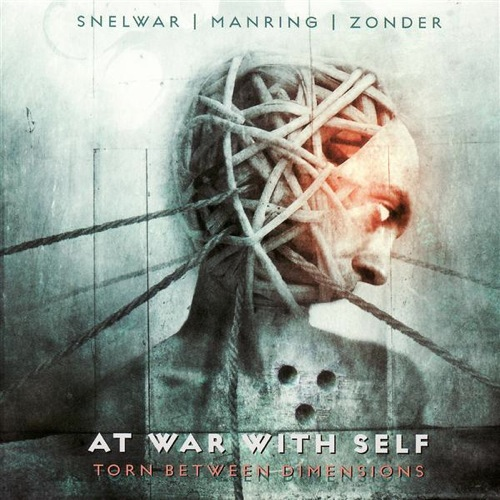 AT WAR WITH SELF - Torn Between Dimensions cover