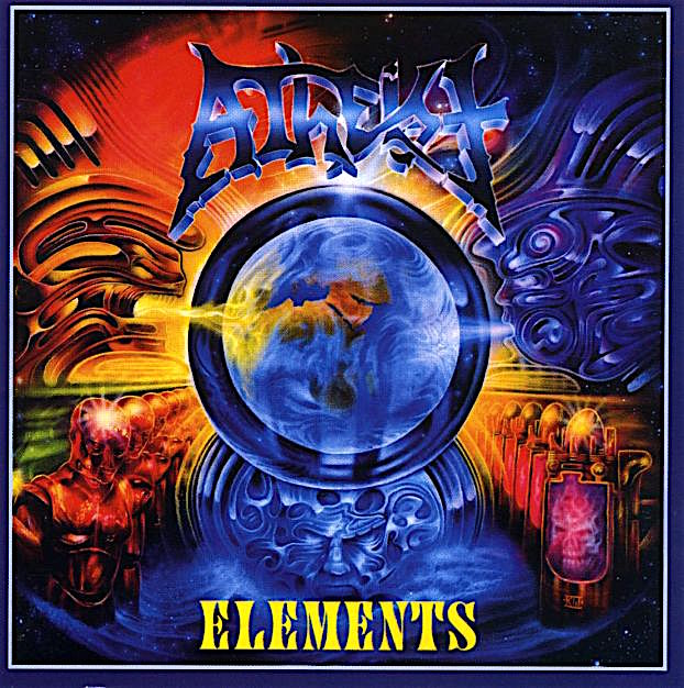 ATHEIST - Elements cover