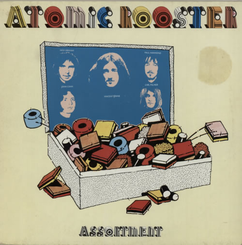 ATOMIC ROOSTER - Assortment cover