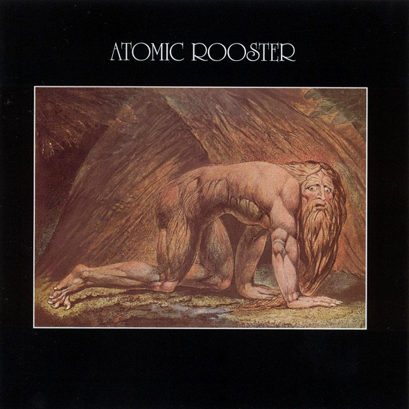 ATOMIC ROOSTER - Death Walks Behind You cover