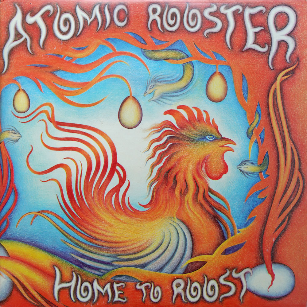 ATOMIC ROOSTER - Home To Roost cover